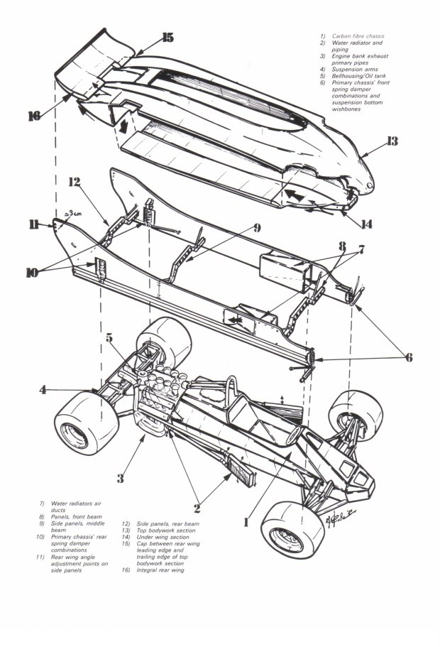 Bmw Diagram Mclaren F1 Blueprint
