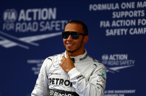 UBS China Grand Prix 2013 - Lewis Hamilton Mercedes AMG F1
