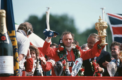 Niki Lauda - British GP © Iconic Photo Galleries