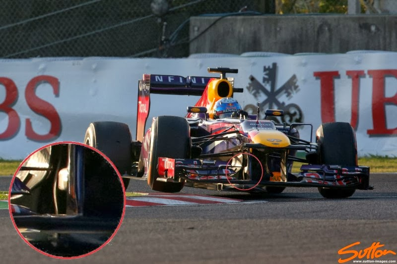 Dampers For Cars : F forensics are red bull illegally 'mass damping
