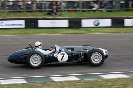 Stirling Moss in the Ferguson P99