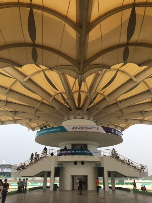 The Tower - where fans can enjoy the 180 degree view of turn 15