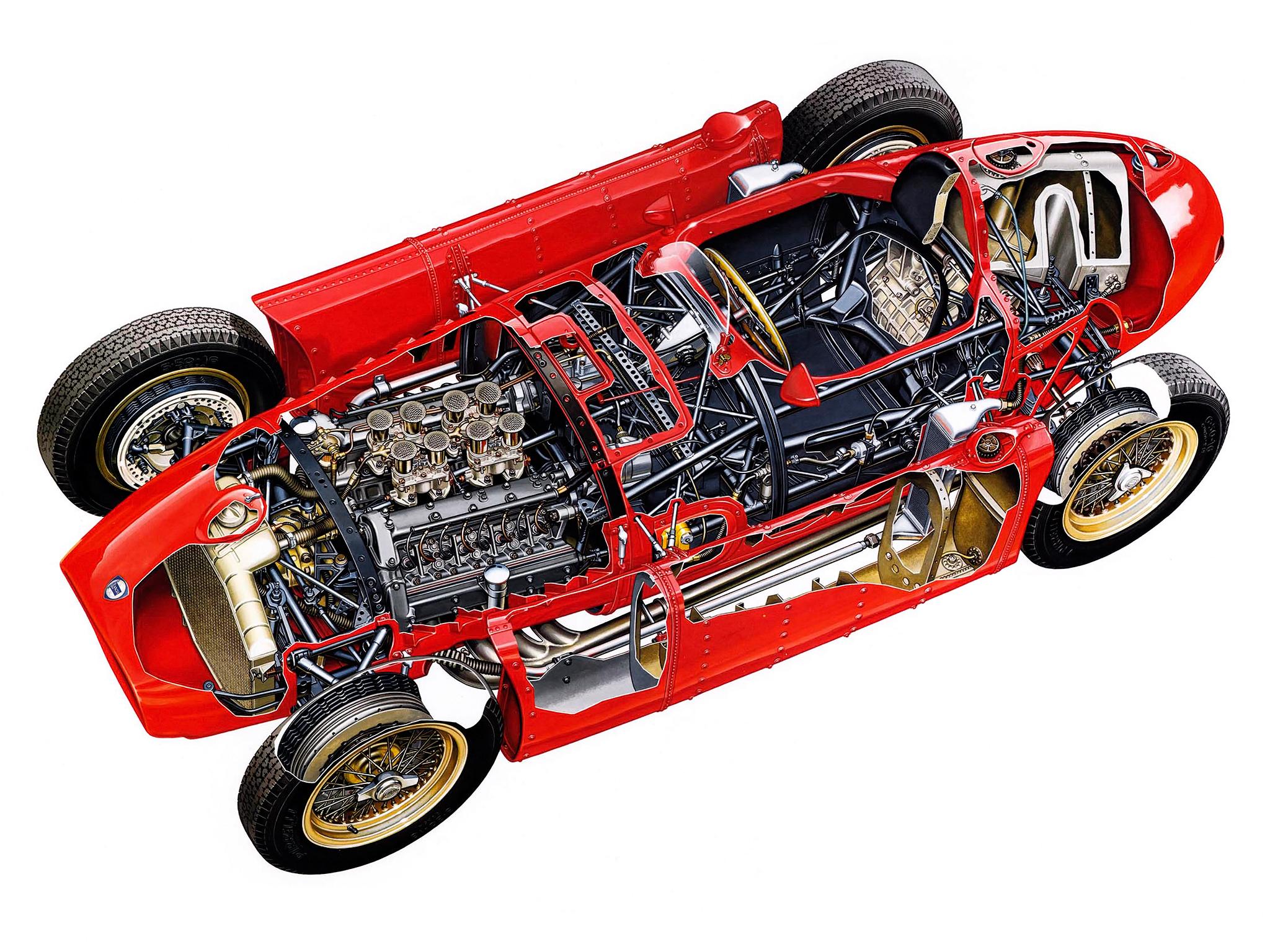 F1 history part 1 alberto ascari and the lancia d50 thejudge13 d50 cutaway vanachro Gallery