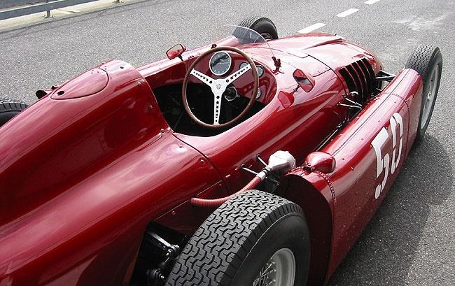 F1 history part 1 alberto ascari and the lancia d50 for Garage ferrari monaco