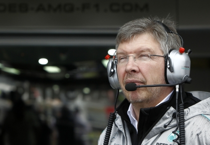 Ross 'the policeman' Brawn always kept the team in check