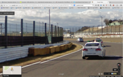 For F1 this is between apex where the cars hit the apex of the Dunlop curve, and where they run widest. Tower 12 in background.