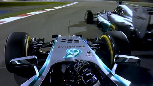 The Mercedes duel in Bahrain which has proven to be pivotal