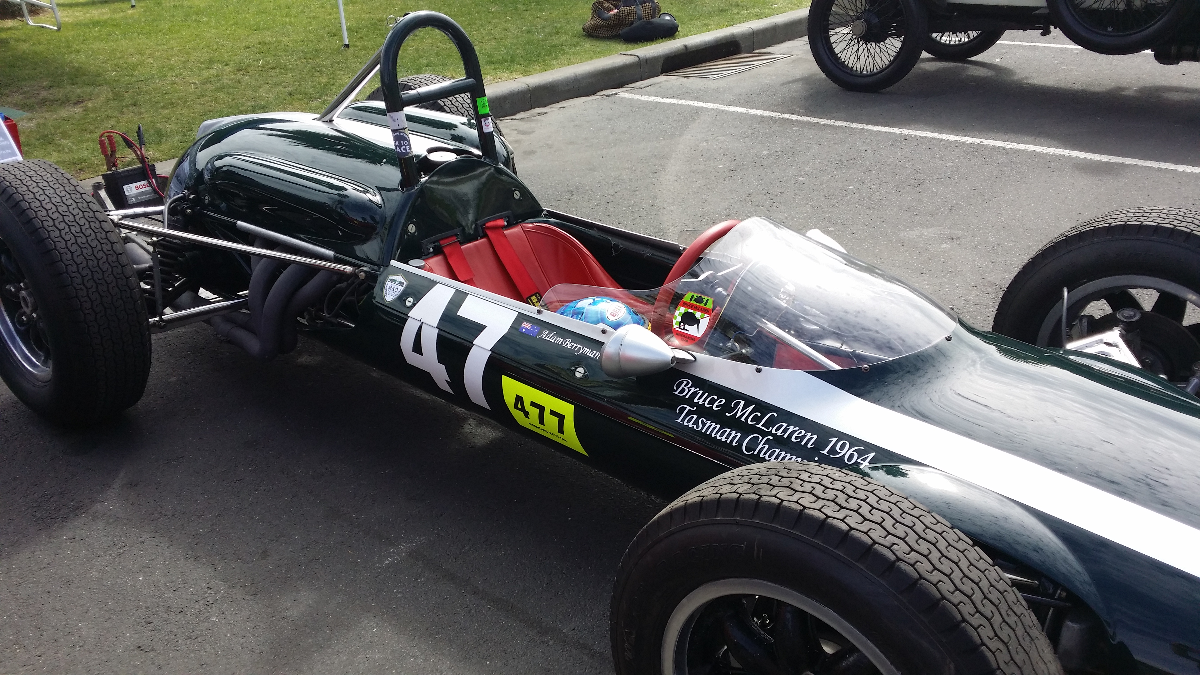 First McLaren Car Discovered at the Geelong Revival – The Cooper T70 ...