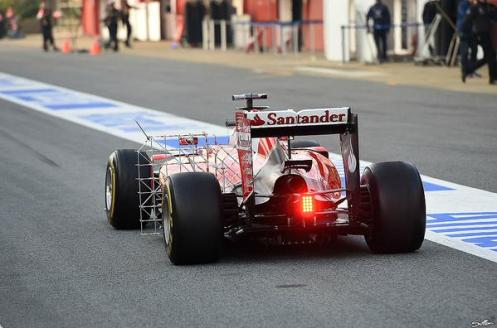 As far as the aero battle is looking, Ferrari are focusing on measuring the air flow behind the driver, while the others are working towards the front of the car - a sign of Vettel's influence already?