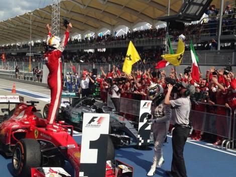Sebastian Vettel Wins