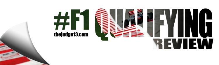 #F1 Qualifying Review:  2017 FORMULA 1 GRAN PREMIO DE ESPANA PIRELLI