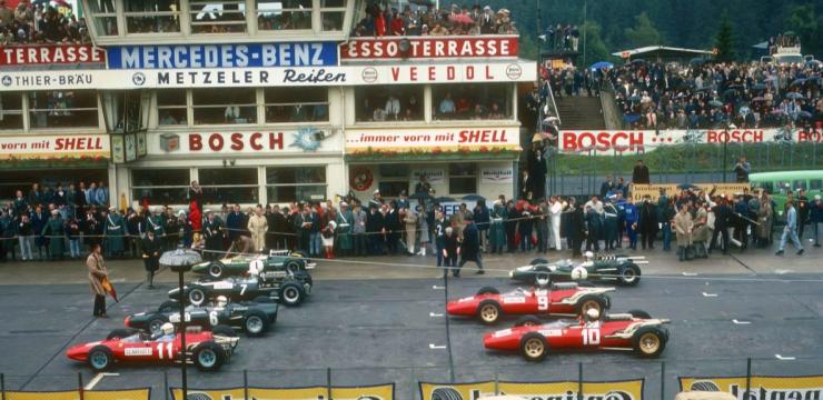1966 german gp grid