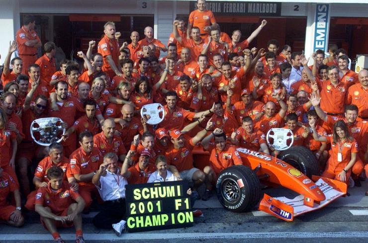 schumacher 2001