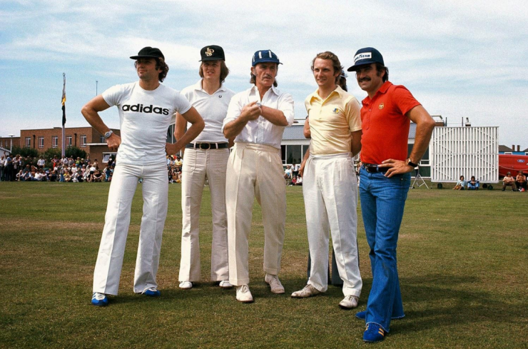 f1 drivers playing cricket