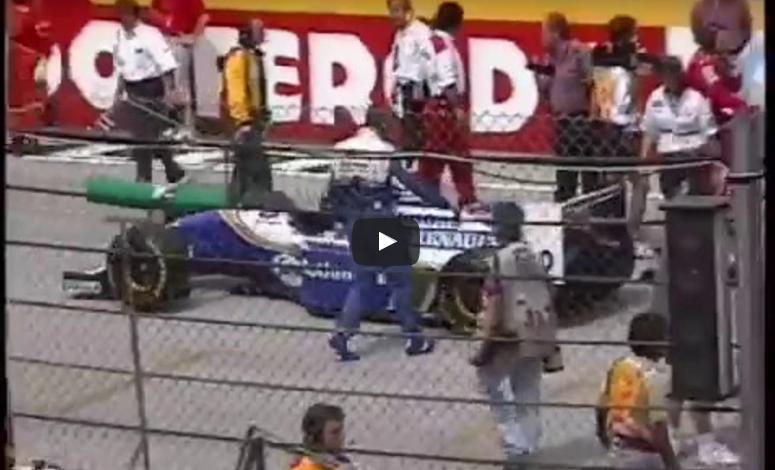 Found footage of Senna just before crash Imola 1994