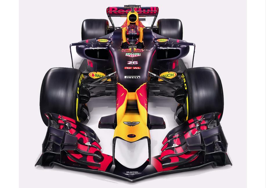 Verstappen & Ricciardo's new car – Red Bull 2017 concept