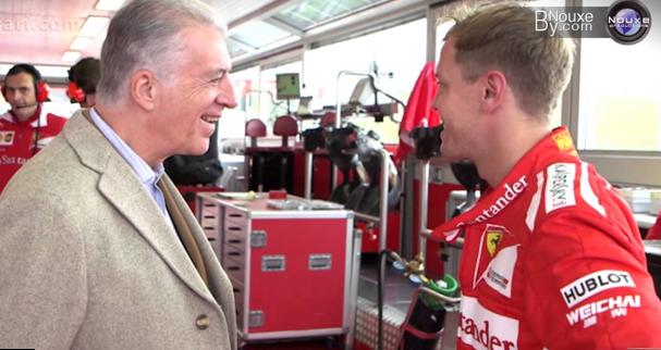 Son of Enzo Ferrari believes Vettel is their next Schumacher