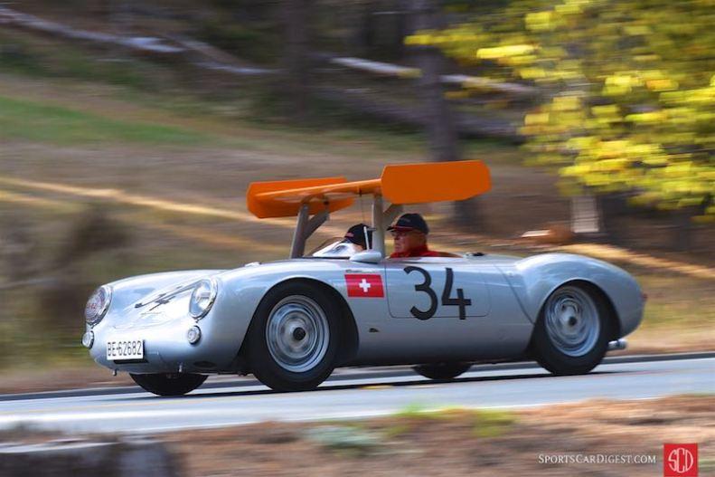 1955 Porsche 550 RS Spyder 550-0031